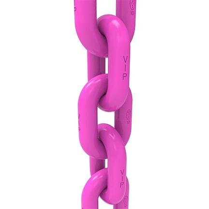 VIP round steel link chain grade 100