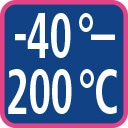 -40 - 200 C