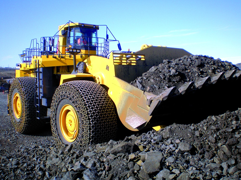 Earthmover Tyre Chains