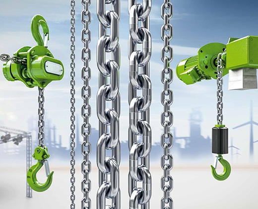 industrial hoist chains